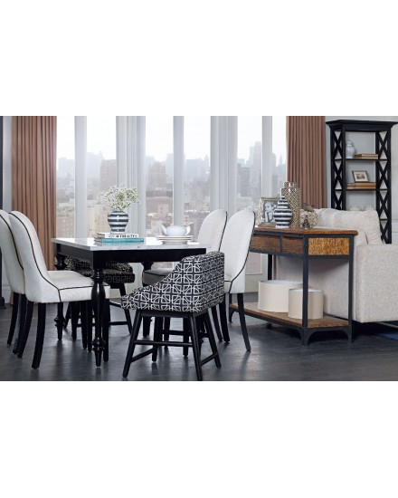 Brooklyn Dining Table Marble Top