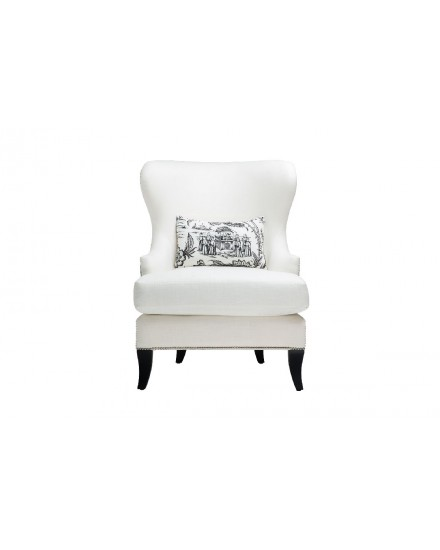 Maya Wing Chair Chinoiserie