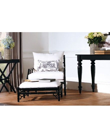 Avery Accent Chair in White