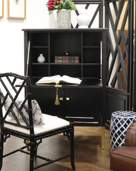 Robby Writing Desk Cabinet