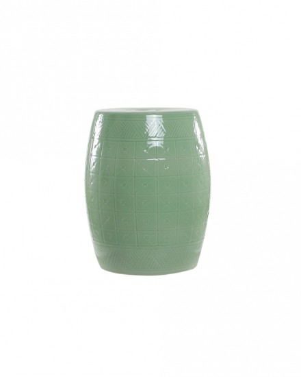 Pistachio Ceramic Stool
