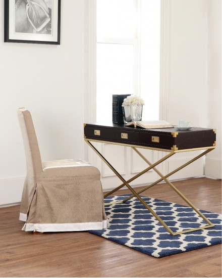 DAYTON CONSOLE TABLE leather