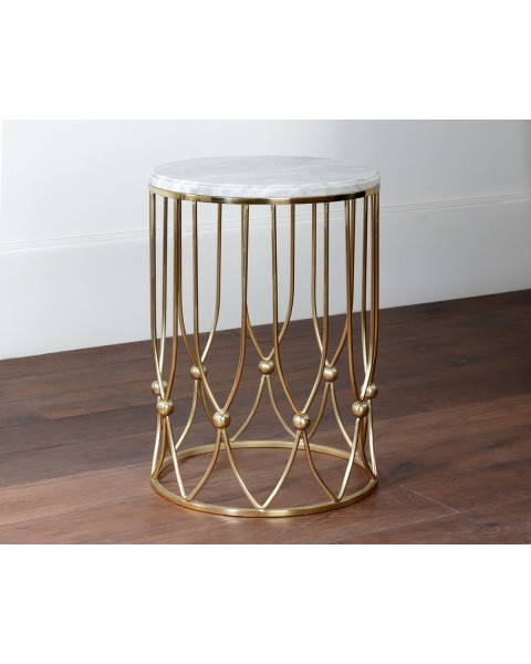 Andrea round side table