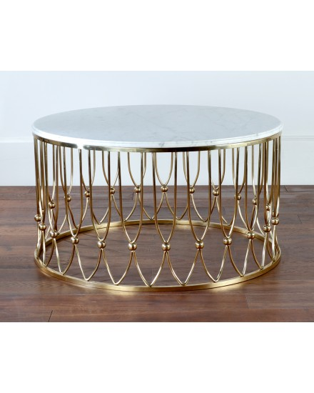 Andrea round coffee table