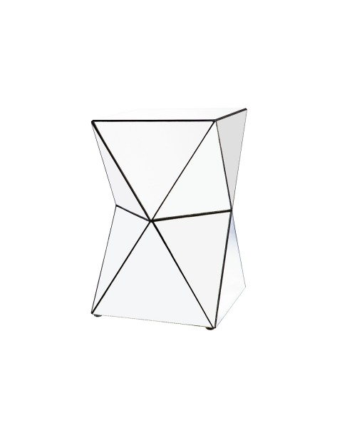 Silvia Geometric Occasional Table