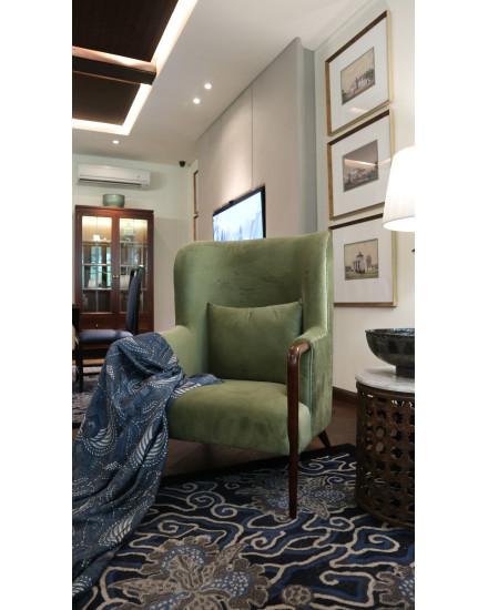 Kembang Ceplokan Accent Chair