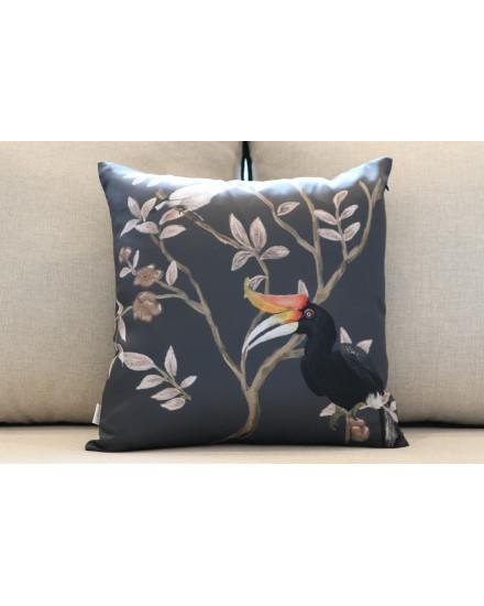 Black Rangkong Cushion
