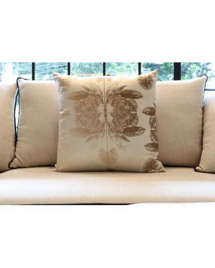 Gold Rangkong Rainforest Cushion