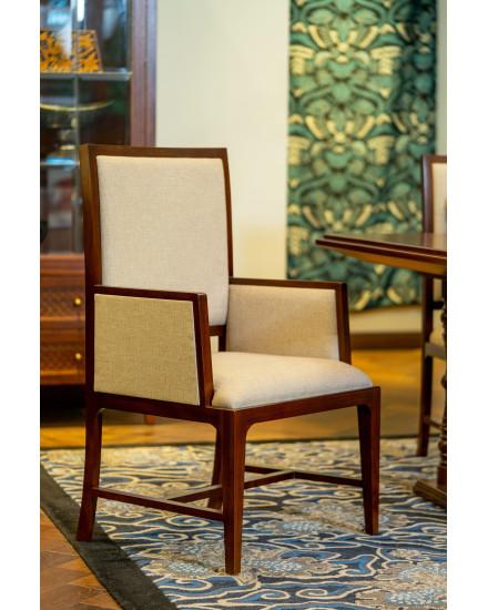 Lung Kembang Mlathi Dining Chair with Arm