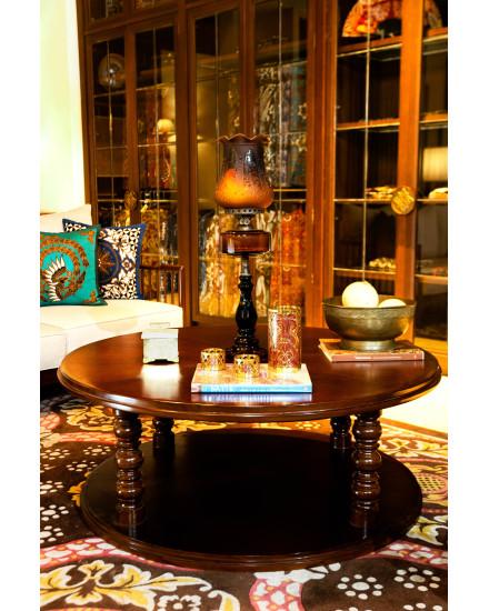 Lung Kembang Mlathi Round Coffee Table