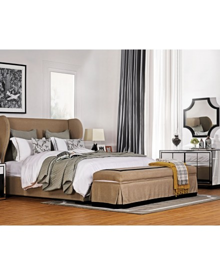 LOGAN BEDFRAME WITH HEADBOARD