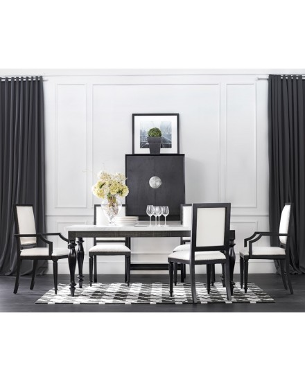 Peyton Dining Table Marble Top