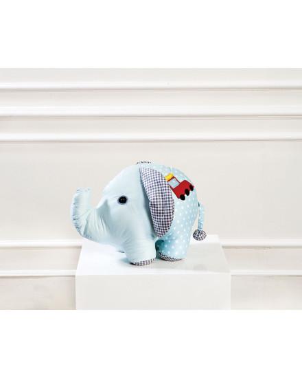 Elephant Plush Toys - Blue