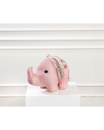 Elephant Plush Toys - Pink