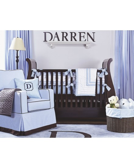 Darren 2 in 1 Convertible Sleigh Crib