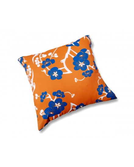 Toss Pillow Evata Blossom Orange