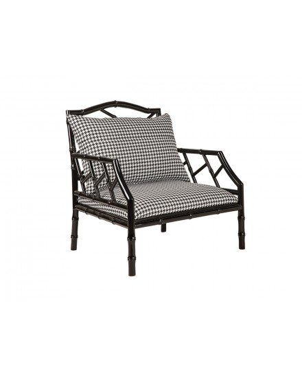 Avery Accent Chair in Houndstooth Shadow
