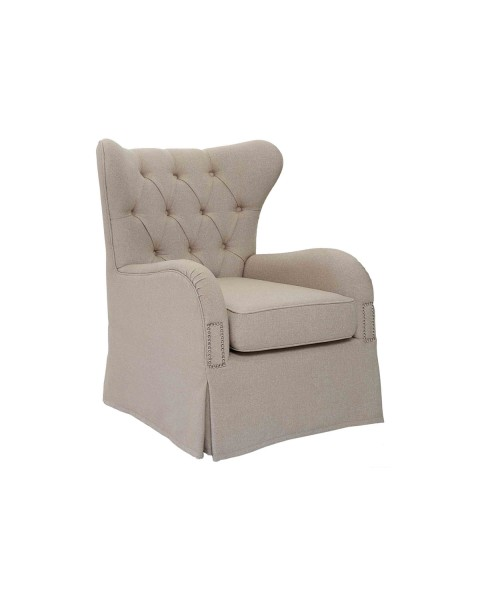 Silvia Tufted Accent Chair
