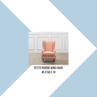 Phoebe Petite Wing Chair is a mini version of our bet selling wing chair, it is a perfect addition to your kid's room or to be placed in the living room alongside the full sized Phoebe for a complete set for you and your kids to enjoy! . For more information, you can visit our website at www.arborandtroy.com or contact our whatsapp business on 0813 8198 0512. . #comfortwitharborandtroy #arborandtroy #workfromhome
