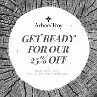Don't miss out our Ready Stock Sale 25% and beautify your home! . For more information, you can visit our website at www.arborandtroy.com or contact our whatsapp business on 0813 8198 0512. . #arborandtroy #comfortwitharborandtroy #newnormal #furniture