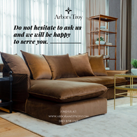 For any inquiries on our furniture, please visit our website at www.arborandtroy.com or contact our WhatsApp Business +62 8198 0512. . #comfortwitharborandtroy #arborandtroy #workfromhome