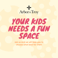 Every child have their own beautiful and unique personality, why not create a mini-sanctuary for them to play, learn, and rest. Arbor & Troy Kids will help you create the perfect room for your kids to enjoy and do all of their activities. . For more information, you can visit our website at www.arborandtroy.com or contact our whatsapp business on 0813 8198 0512. . #comfortwitharborandtroy #arborandtroy #newnormal #furniture #atkids #kids #kidsfurniture