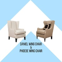Wing chair are perfect for your corner spot in your living room or ofice space as a place to sit down and relac while reading a book or enjoying your favorite beverage. . Meet Daniel and Phoebe, our wing chairs that not only look good but will also serve a purpose. Pair them with any of our side table and they will be the perfect combination for your home or office's corner space. . For more information, you can visit our website at www.arborandtroy.com or contact our whatsapp business on 0813 8198 0512. . #arborandtroy #comfortwitharborandtroy #newnormal #furniture