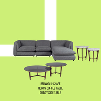 Looking for a set to complete the modern look of your living area in your home or office? . The unique design of our Berwyn L-shape sofa will definitely bring the modern feel to your living room at home or in a professional setting of an office. Although it is beautiful on its own, complete the modern feel and look with our Quincy coffee table and side table set. The glass top and brass side linings detail on the coffee tables and the marble top of the side tables will accentuate the modern and elegant look. . For more information, you can visit our website at www.arborandtroy.com or contact our WhatsApp business on 0813 8198 0512. . #comfortwitharborandtroy #arborandtroy #workfromhome