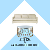The beauty and elegance of Jessie sofa will enhance the look of your living area. Not only is it beautiful, it is also comfortable . . Combine Jessie with our beautiful Andrea coffee table, its natural marble top and brass base will compliment the beauty of Jessie. When they are paired, they will enhance the elegance of your room. . For more information, you can visit our website at www.arborandtroy.com or contact our whatsapp business on 0813 8198 0512. . #comfortwitharborandtroy #arborandtroy #newnormal #furniture