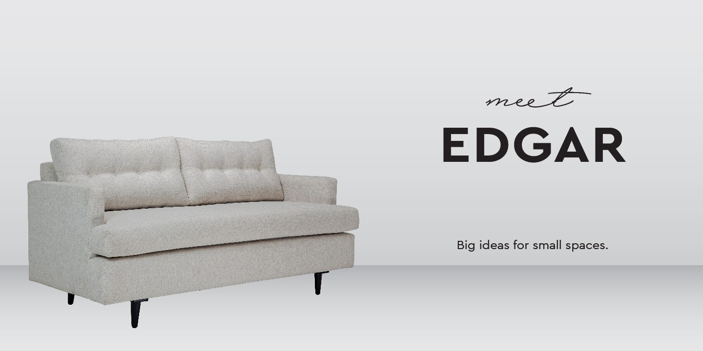 Edgar sofa - studio line